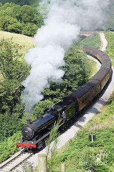 North York Moors railway 1 by Sally Barnett