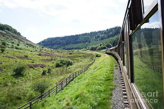 North York Moors railway 2 by Sally Barnett