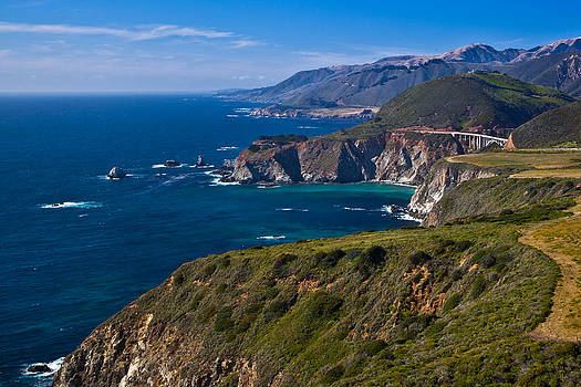 Northbound California Highway 1 by Jim Ross