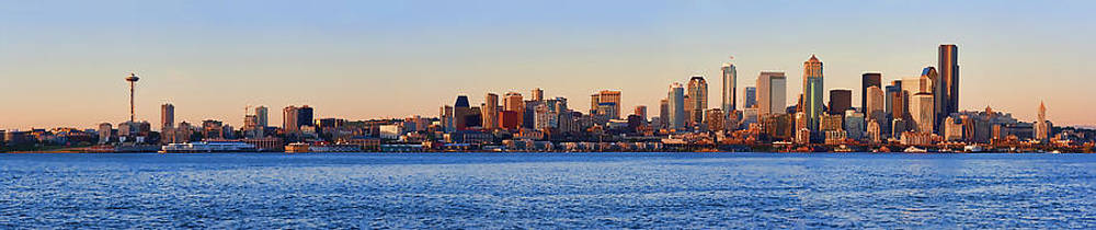 Northwest Jewel - Seattle Skyline Cityscape by James Heckt