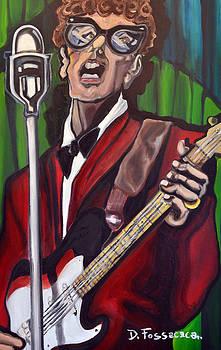 Not Fade Away-Buddy Holly by David Fossaceca
