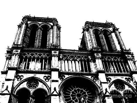 Notre Dame Paris - Paris - France  by Francoise Leandre