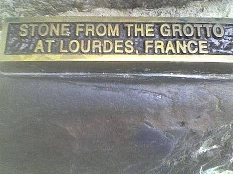 Notre Dame University Grotto by Michael  Dillon
