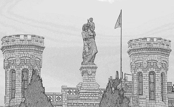 Notredam by Amr Miqdadi