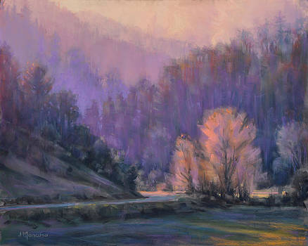November In The Blue Ridge Mountains by Joe Mancuso