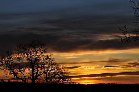 November Sunrise 2 by Peter  McIntosh