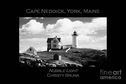 Nubble Light by Christy Bruna