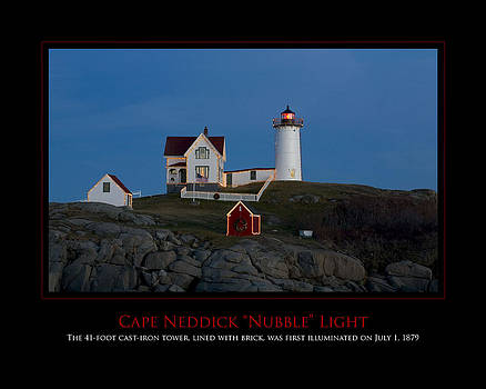 Nubble Light by Jim McDonald Photography