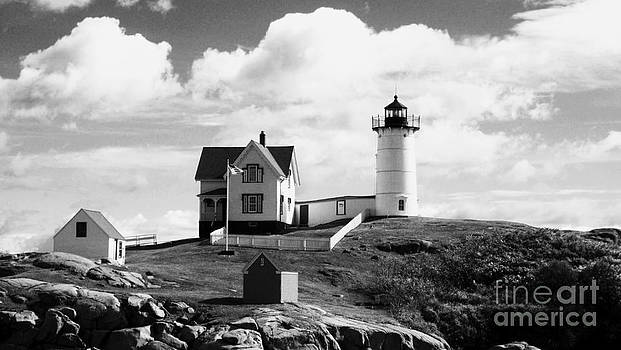Nubble Lighthouse - Cape Neddick Maine by Christy Bruna