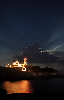 Nubble Lights by Rick Frost
