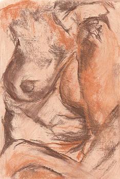 Nude 01 by Bernadette De Bouver