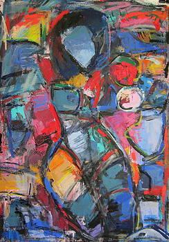 Abstract Nude 01 by Len Yurovsky
