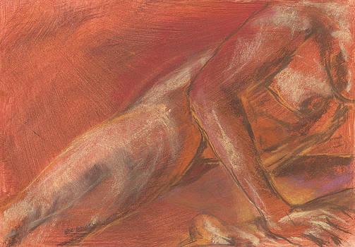 Nude 05 by Bernadette De Bouver