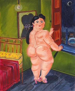 Nude after Botero by Marisol DAndrea