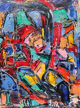 Nude In Colors 05 by Len Yurovsky