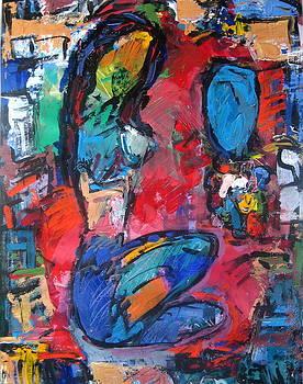 Nude In Colors by Len Yurovsky