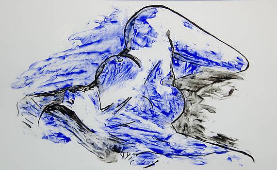 Nude in Wax 1 by Aaron Acker
