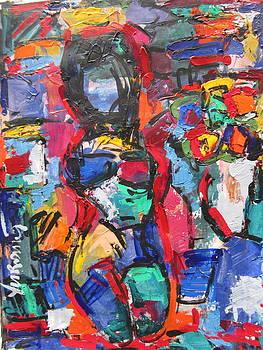 Nude by Len Yurovsky
