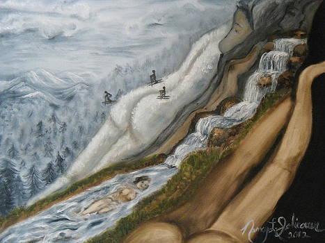 Nude National Park by Nancy L Jolicoeur