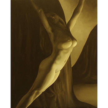 Nude no.1 SQUARE FOR CONTEST see paintings gallery for full res. version by Katherine Huck Fernie Howard