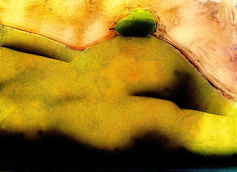 Nude With Pear by JDon Cook