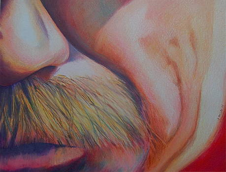 Number Three Dale Earnhardt by Joan Pollak