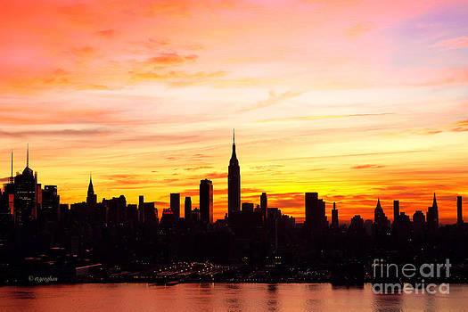 Regina Geoghan - NY Saturday Sunrise
