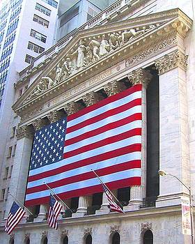 NY Stock Exchange by Diana McClure