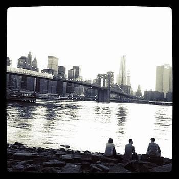 NYC Skyline by Fern Fiddlehead