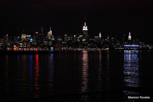 NYC SkyLine by Shannon Ruvelas
