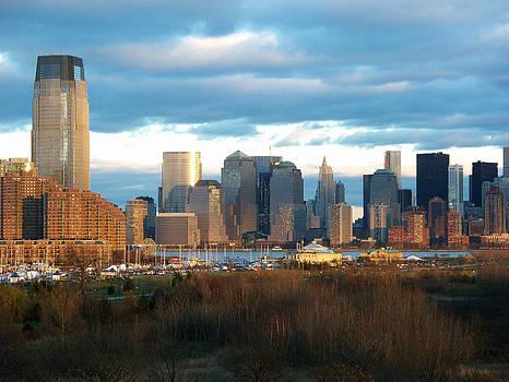 NYC Skyline by Valerie Longo