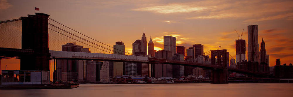 Dave Hahn - NYC Sun Down - Panorama