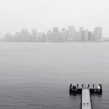 NYC View from Liberty Island by Nina Papiorek