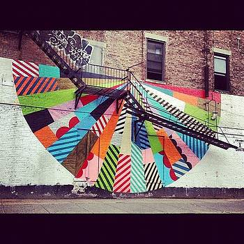 NYC wall art by Lauren Smith