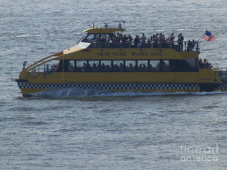 N.Y.Water Taxi by Charmaine Lundy