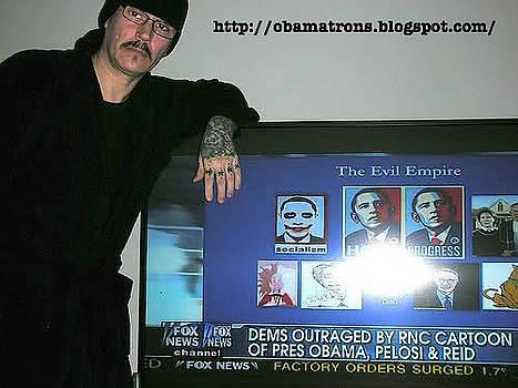 Obamatrons by Edward Przydzial
