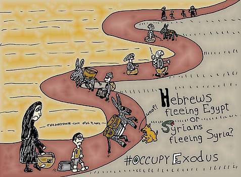 Occupy Exodus Cartoon by Yasha Harari