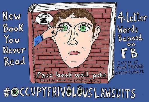 Occupy Frivolous Lawsuits Cartoon by Yasha Harari