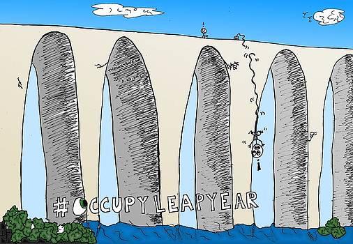 Occupy Leap Year Cartoon by Yasha Harari