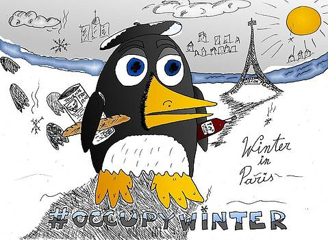 Occupy Winter in Paris by Yasha Harari