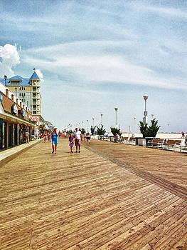 Ocean City Boardwalk by Kelly Reber