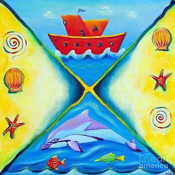Ocean daydreaming by Melle Varoy