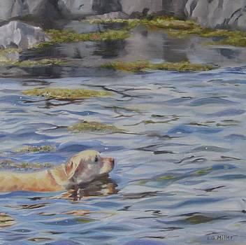 Ocean Dip II by Laurie G Miller