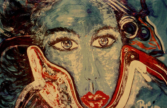 Ocean Goddess by Shakti Brien