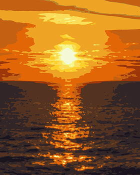 Ramona Johnston - Ocean Sunset