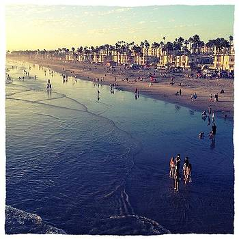 #oceanside #beach #playinginthewaves by Lauren Laddusaw