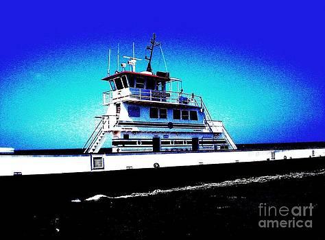 Ocracoke Ferry Crossing by A Skulskie