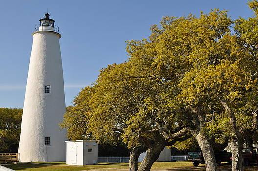 Ocracoke Lighthouse by Jeff Moose