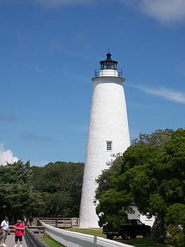 Ocracoke Lighthouse by Julie Strickland