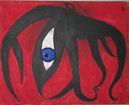 Octo-eye by Clancy Prentice